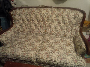 Beautiful Antique Loveseat - a dream restoration project!!!