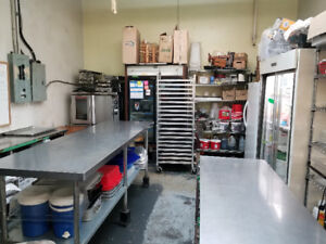 Shared commercial kitchen available