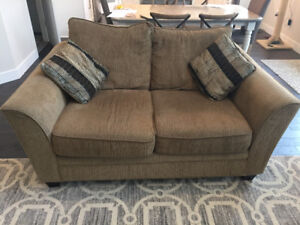 Allen Chenille Sofa & Loveseat $400 for both - Priced to sell!