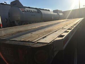 2013 Flatbed Funtaine Trailer for Sale