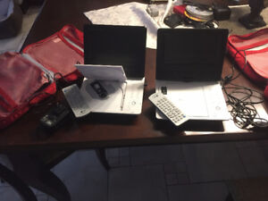 Leccteur DVD mini, 7po, GE, DVD mini player,