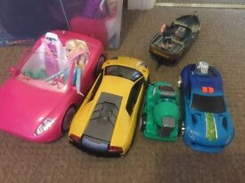 All toy cars