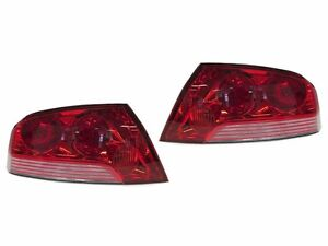DEPO JDM Evo 7 OE-Style Red/Clear Tail Light For 03-06 Mitsubishi Lancer Evo 8/9