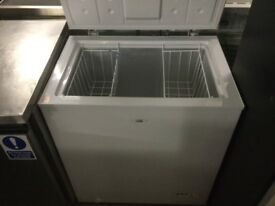 Logik white chest freezer