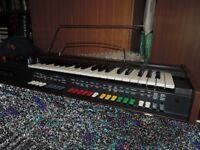 Vintage Teisco analogue monophonic synthesizer