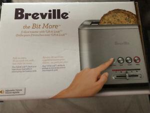 Like New Breville Full Stainless Steel Toaster