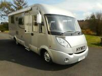 Hymer B698CL A-class motorhome, 2010(60), island bed, automatic, Caerphilly CF83 for sale  Stroud, Gloucestershire