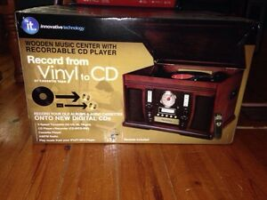 CD player - records vinyl to cd's also!