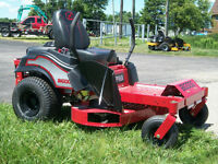"Big Dog Alpha 42"" & 52"" Zero Turn Mowers  7YR Limited Warranty"