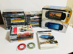 Large Sony PSP Collection