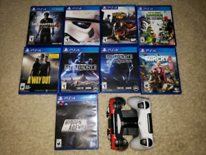 Playstation 4 Controllers/Games