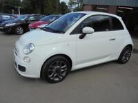 Fiat 500 S S/S.......Ready to go!
