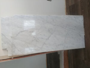 Beautiful white marble with grey accents