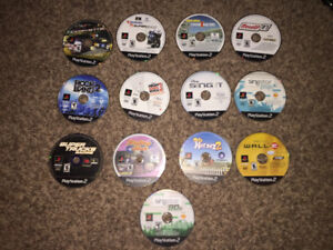 PS2 games, $5 each or 5 for $20