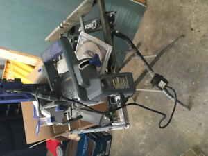 Tile cutter with stand