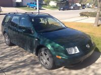 2001 VW Jetta Wagon ***LOW KMS***