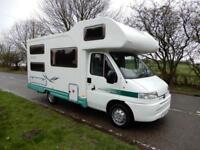 **Deposit Taken**Autocruise Pioneer Classic V 2002 6 Berth Rear Bunk Beds