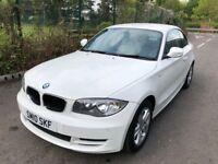 BMW 1 SERIES 120d ES Good / Bad Credit Car Finance (white) 2010