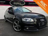 2012 12 AUDI A3 2.0 TDI S LINE SPECIAL EDITION 3D AUTOMATIC 140 BHP DIESEL