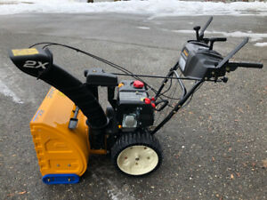 """""""LIKE NEW"""" 24"""" Cub Cadet 2 Stage Snowblower - Used 3 Times!"""