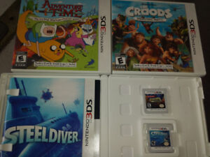 4 Games for the Nintendo 3DS system.