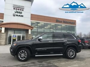 2016 Jeep Grand Cherokee Limited  LOCAL TRADE, DEALER CERTIFIED/