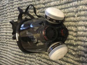 Honeywell full face respirator