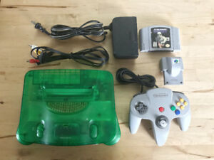 Nintendo 64 System - Controller - Rumble Pack - Game