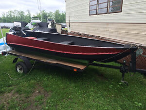 12ft Alluminum Fishing Boat With Trailer