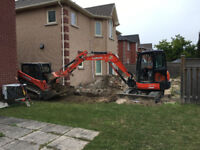 Excavator & Skid Steer with Operators for Hire