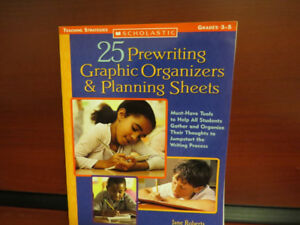 25 Prewriting Graphic Organizers and Planning Sheets