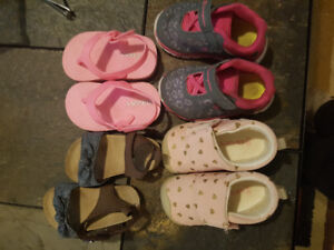 Baby girl shoes size 2-5