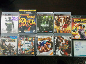 ps2 game, and ps3 games gta 5 and 4 are gone St. John's Newfoundland image 1