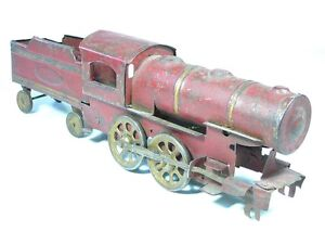 Antique Painted tin Toy Train Schieble (Dayton)