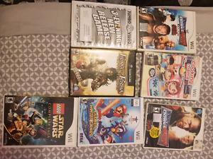 Assorted Wii games
