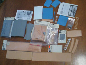 HO scale Pikestuff building materials