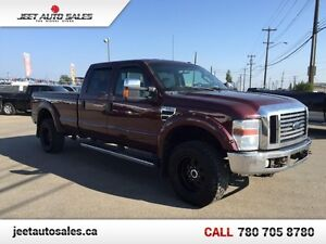 2010 Ford F-350 Super Duty Lariat 4x4 crew V10 Fully Loaded Long