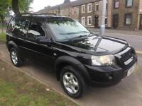 2006 56 Land Rover Freelander 2.0Td4 4X4 Adventurer 3 DOOR IN BLACK VERY RARE