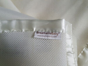 Breathable baby bumper pad and mesh netting