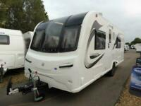 New 2021 Bailey Unicorn IV Black Edition Valencia Caravan Limited stock
