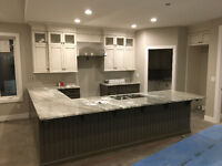 Custom millwork, built-ins, feature walls and cabinetry!