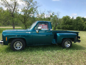 Very rare 1977 Chevy Stepside Pick up!