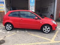 Ford Fiesta ZETEC, 2007/57, only 75,000 miles, 1.25 petrol, cheap insurance, £1995 ono