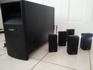 Bose Acoustimass 15  home theater speaker system