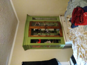 China cabinet and hutch top (best offer)