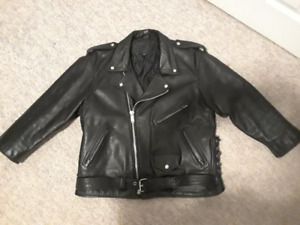 Women's Leather (Motorcycle) Jacket