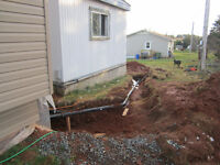 I need 1 man to fill a trench in my yard