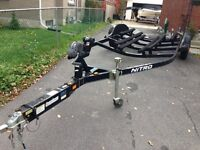 2006 Tracker NITRO 18-21 ft boat trailer