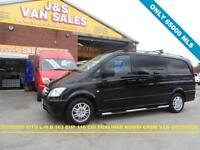 2011 11 MERCEDES-BENZ VITO DUALINER 2.1 116 CDI BLUEEFFICIENCY DUALINER 163 BHP