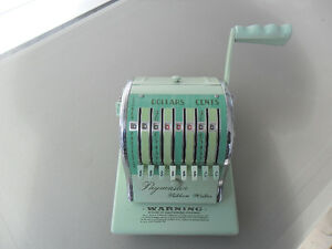 Vintage, Collectibles, Paymaster Ribbon Writer, Type 800-D